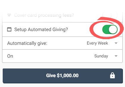 Recurring Giving cropped